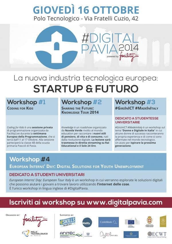 #DigitalPavia