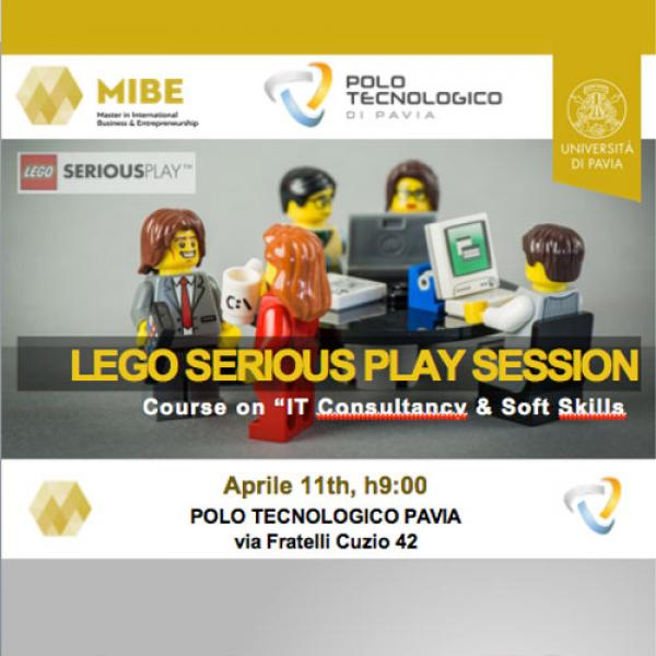 11 aprile 2018 - LEGO ® SERIOUS PLAY